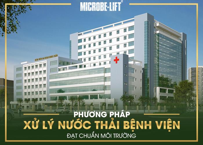 Phuong phap xu ly nuoc thai benh vien dat chuan moi truong 01
