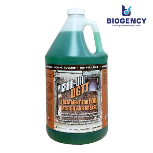 MICROBE-LIFT DGTT - Vi sinh xử lý dầu mỡ, chất béo