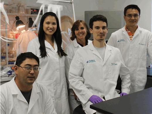 Đội ngũ nhân sự thuộc trung tâm nghiên cứu và sản xuất của Ecological Laboratories