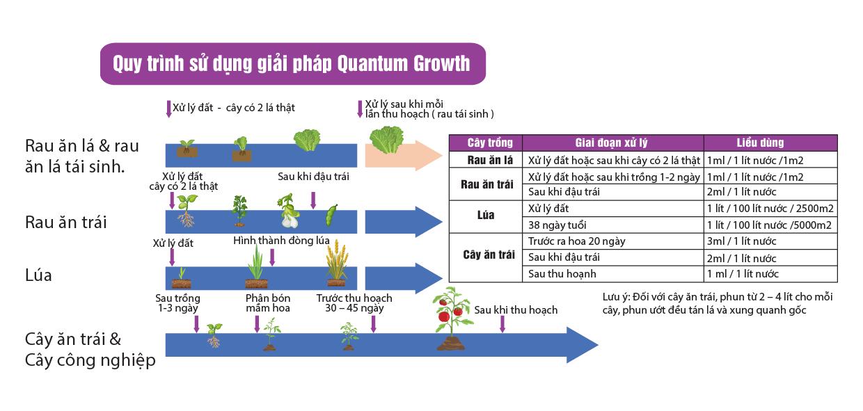 quantum growth - vi sinh sach cho nong san sach