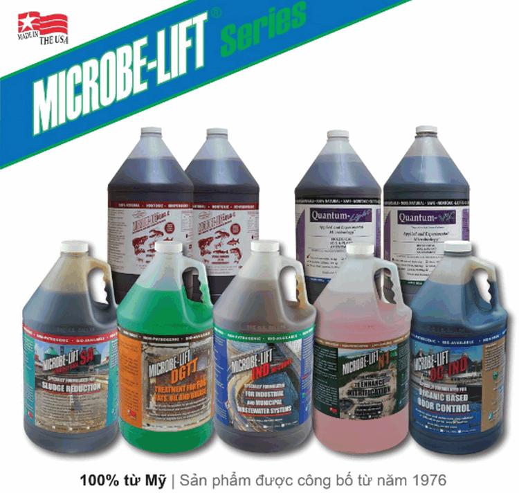 Sản phẩm microbe-lift sản xuất 100% từ Mỹ