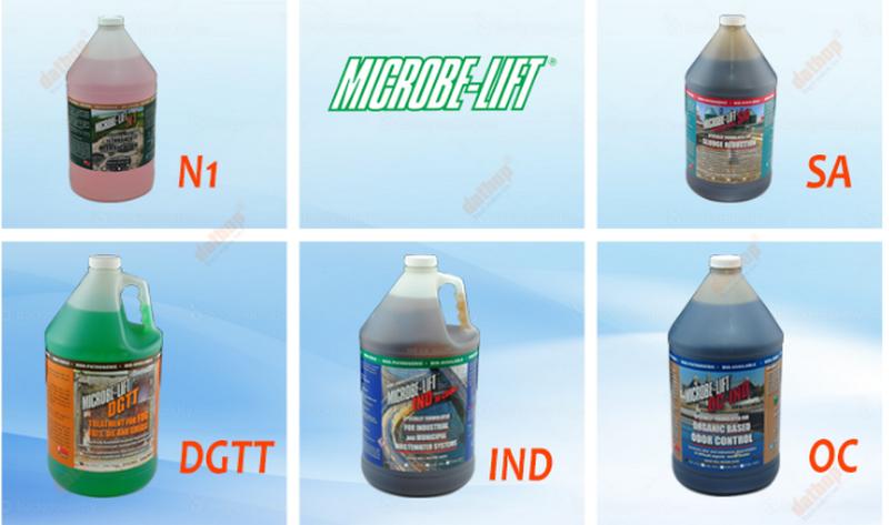 sản phẩm microbe-lift khía cạnh môi trường