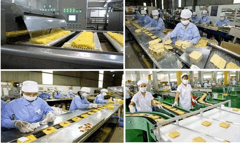 Sản xuất mì ăn liền