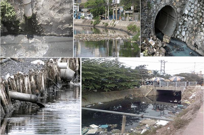 Nước thải sinh hoạt đô thị gây ảnh hưởng đến môi trường