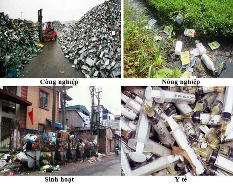 Các nguồn phát sinh ra rác thải