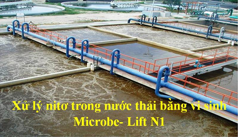 xử lý nito bằng Microbe- Lift N1