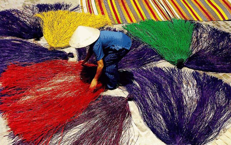 làng nghề dệt nhuộm
