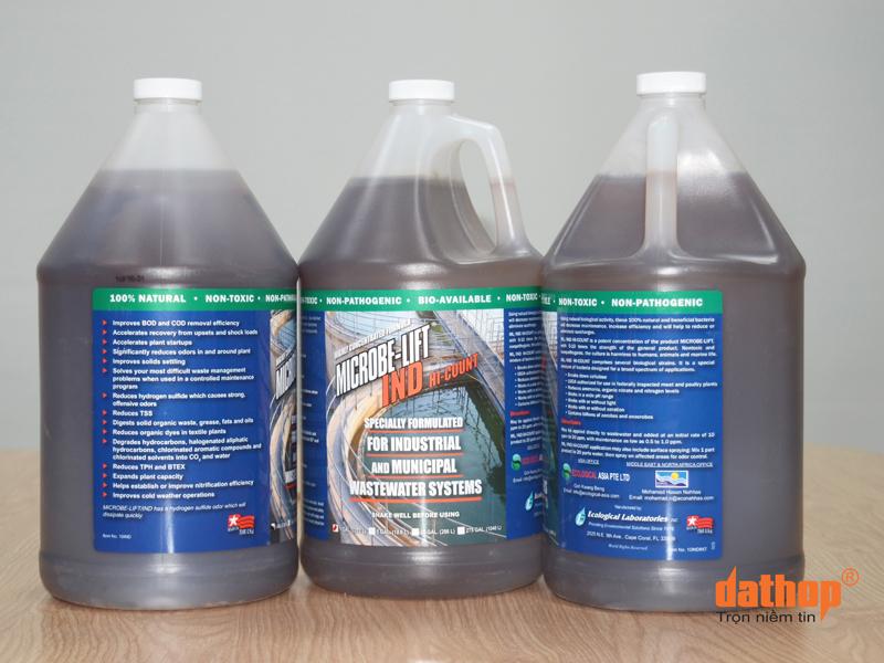 Microbe Lift IND - Chế phẩm vi sinh xử lý nước thải trong sản xuất bia