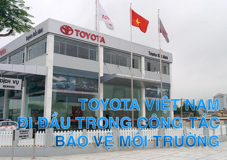xử lý nước thải tại nhà máy Toyota Việt Nam