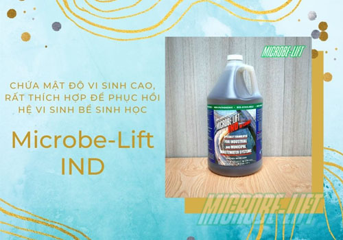 Microbe-Lift IND phuc hoi be sinh hoc