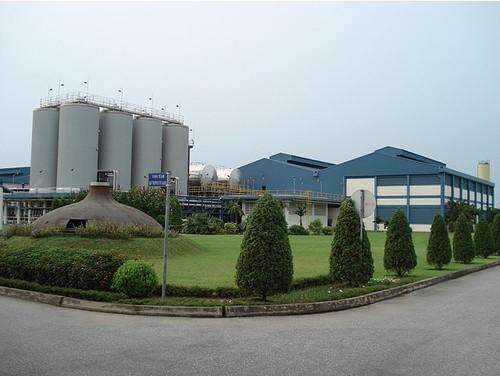 Xử lý hồ sinh học Nhà máy bia Hà Tây