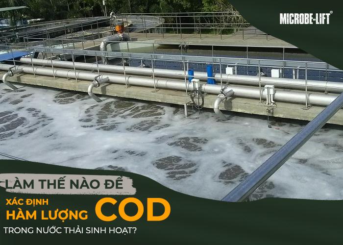 ác định hàm lượng COD trong nước thải sinh hoạt?