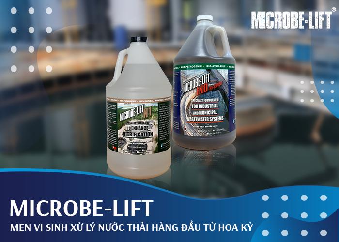 Microbe-Lift - Men vi sinh xử lý nước thải hàng đầu từ Hoa Kỳ