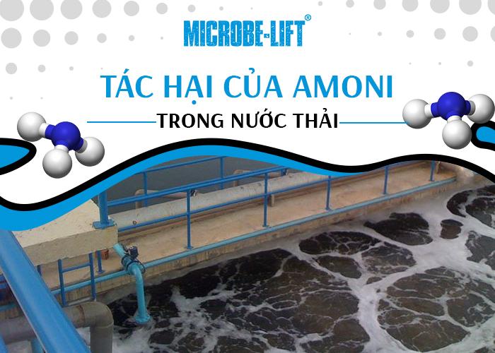 Tác hại của Amoni trong nước thải