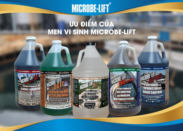 Ưu điểm của men vi sinh Microbe-Lift: