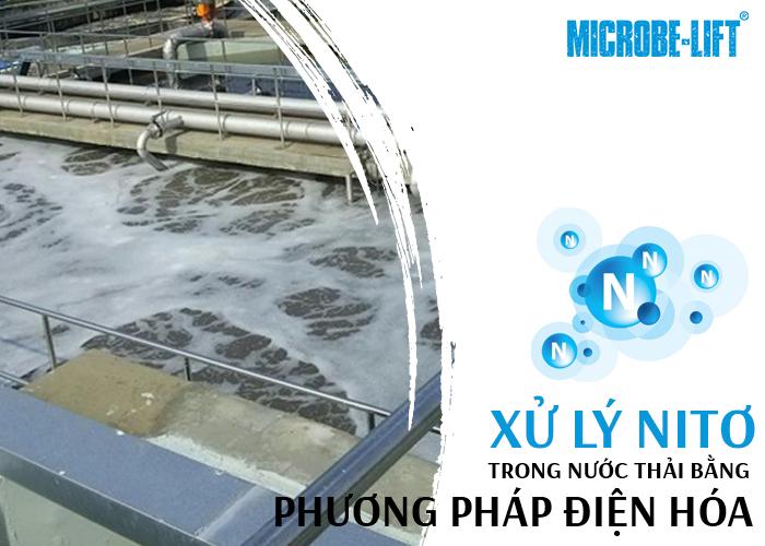 Xử lý Nitơ trong nước thải bằng phương pháp điện hóa hiệu quả cao