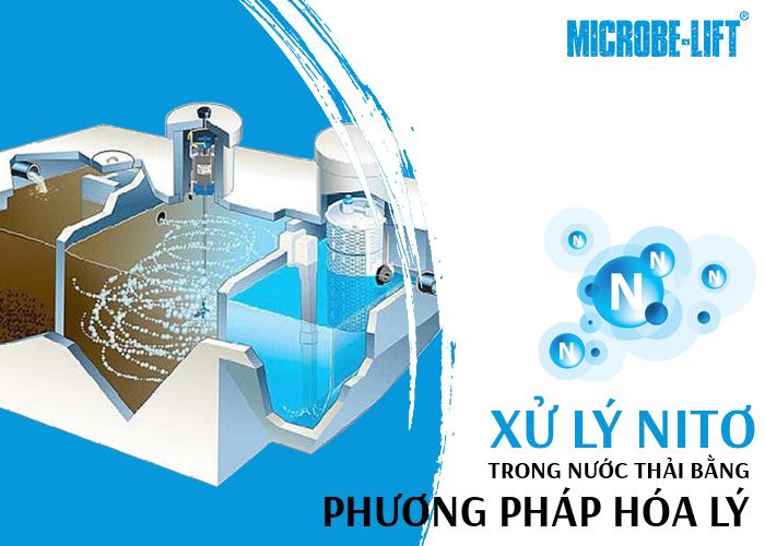 Xử lý Nitơ trong nước thải bằng phương pháp hóa lý