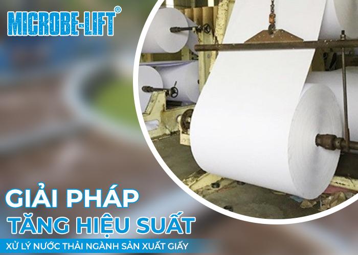 Giải pháp xử lý nước thải ngành sản xuất giấybằng phương pháp sinh học