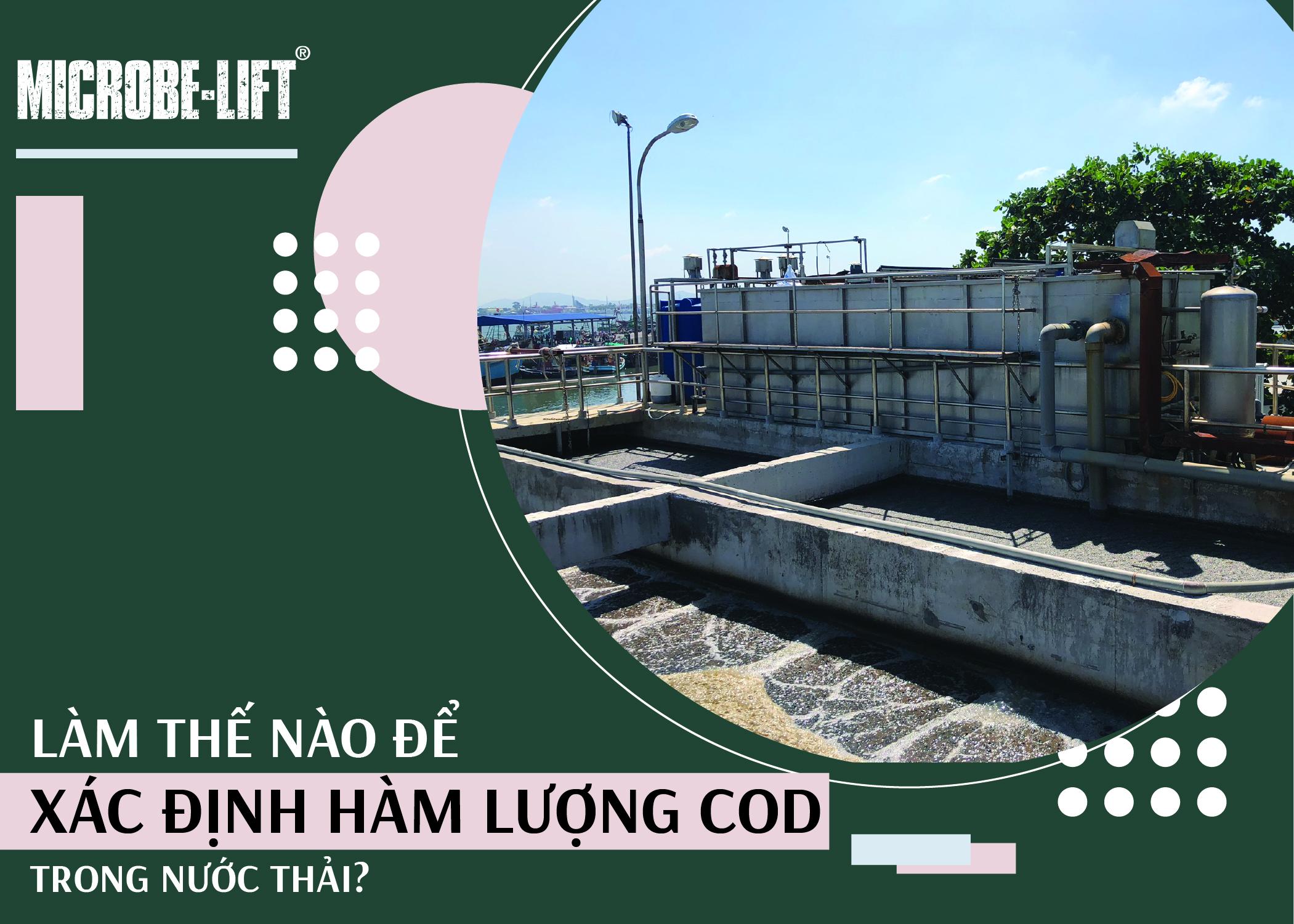 Làm thế nào để xác định hàm lượng COD trong nước thải?