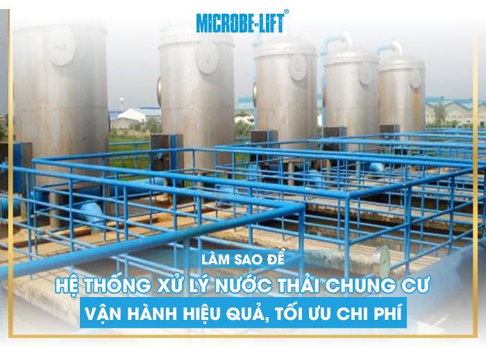 Làm sao để hệ thống xử lý nước thải chung cư vận hành hiệu quả,