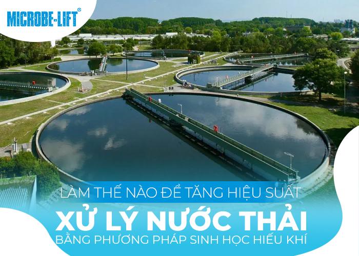 tăng hiệu suất xử lý nước thải bằng phương pháp sinh học hiếu khí