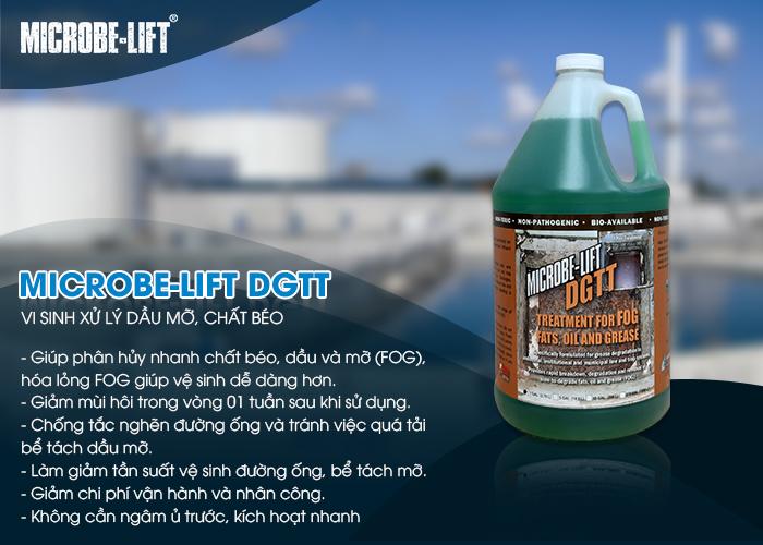 Microbe-Lift DGTT - Vi sinh xử lý dầu mỡ, chất béo từ nhà hàng, quán ăn
