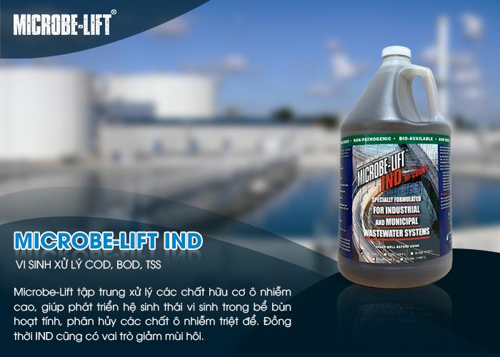 Microbe-Lift IND - Vi sinh xử lý COD, BOD, TSS