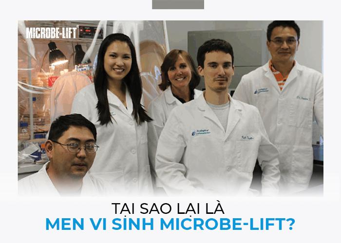 Tại sao lại là men vi sinh Microbe-Lift?