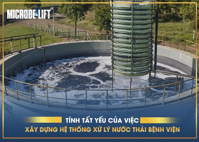 Tính tất yếu của việc xây dựng hệ thống xử lý nước thải bệnh viện