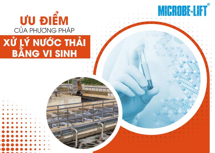 Xử lý nước thải bằng phương pháp vi sinh là gì? Ưu, nhược điểm