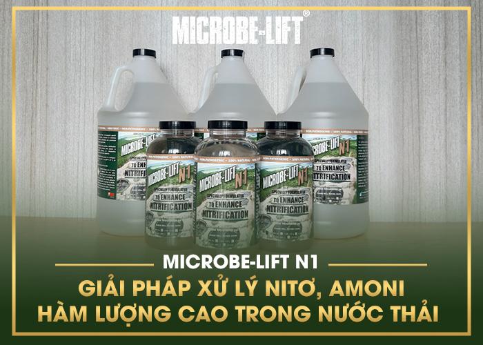 MICROBE-LIFT N1 - GIẢI PHÁP XỬ LÝ NITƠ, AMONI