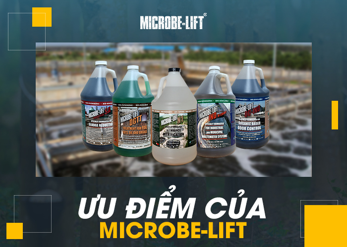 Ưu điểm của Microbe-Lift