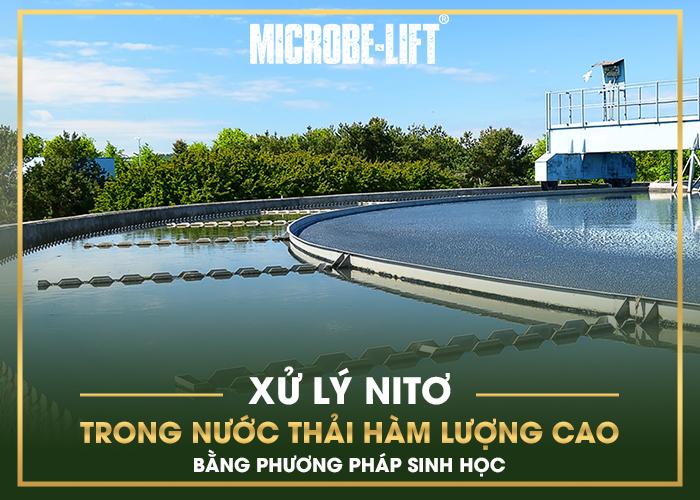 Xử lý Nitơ trong nước thải hàm lượng cao bằng phương pháp sinh học