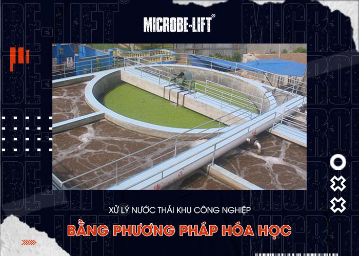 Xử lý nước thải khu công nghiệp bằng phương pháp hóa học