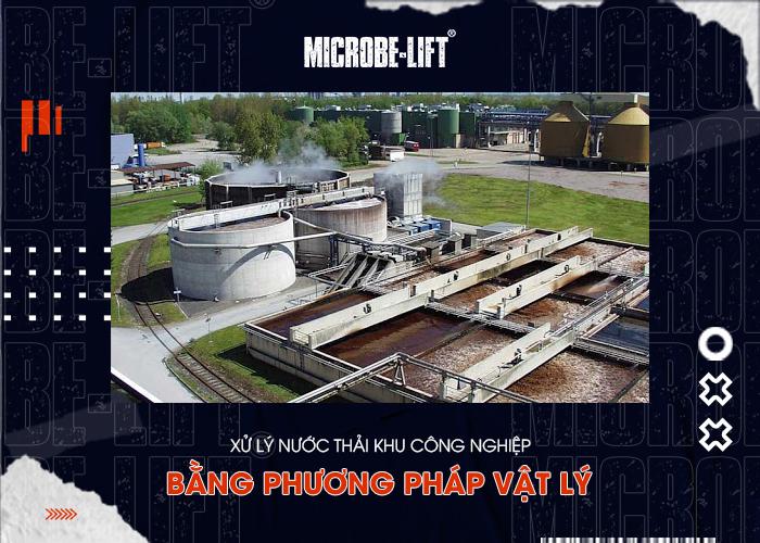 Xử lý nước thải khu công nghiệp bằng phương pháp vật lý