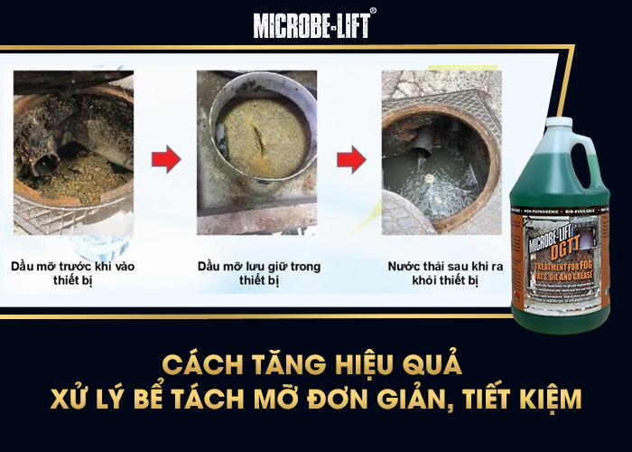 Cách tăng hiệu quả xử lý của bể dầu mỡ, giảm mùi hôi