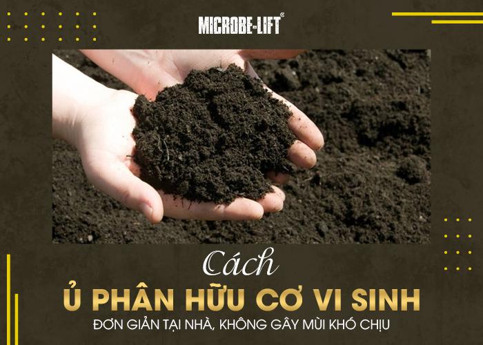 Cách ủ phân vi sinh hữu cơ đơn giản tại nhà