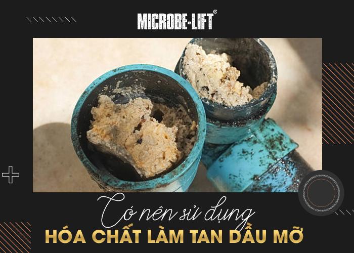 Có nên sử dụng hóa chất làm tan dầu mỡ đường ống thoát nước?