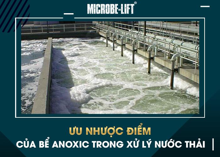 Ưu, nhược điểm của bể Anoxic trong xử lý nước thải
