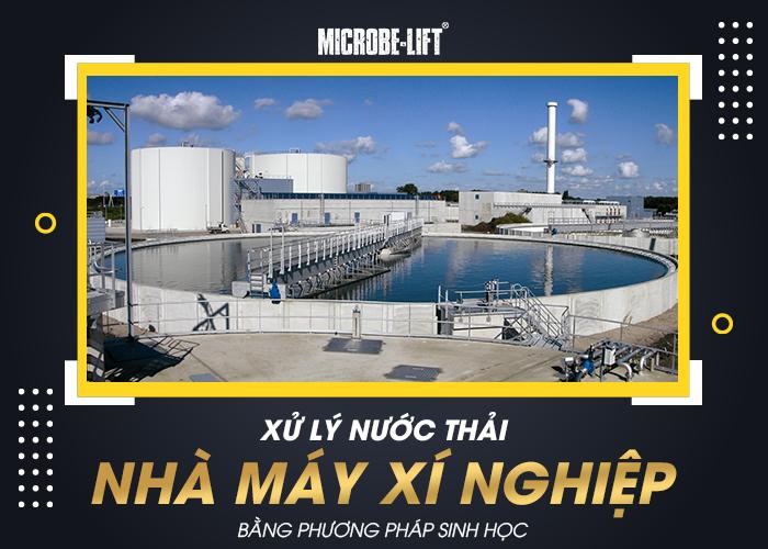 Xu ly nuoc thai nha may xi nghiep bang phuong phap sinh hoc 01