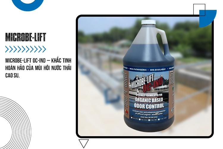 MICROBE-LIFT OC-IND – Khắc tinh hoàn hảo của mùi hôi nước thải cao su