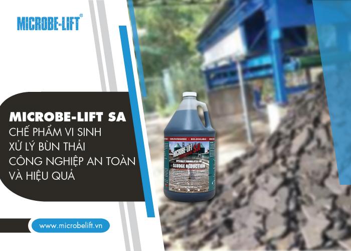 Microbe-Lift SA - Chế phẩm vi sinh xử lý bùn thải công nghiệp an toàn và hiệu quả