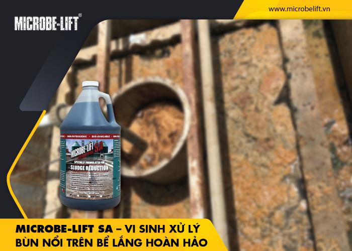 Microbe-Lift SA – Vi sinh xử lý bùn nổi trên bể lắng hoàn hảo
