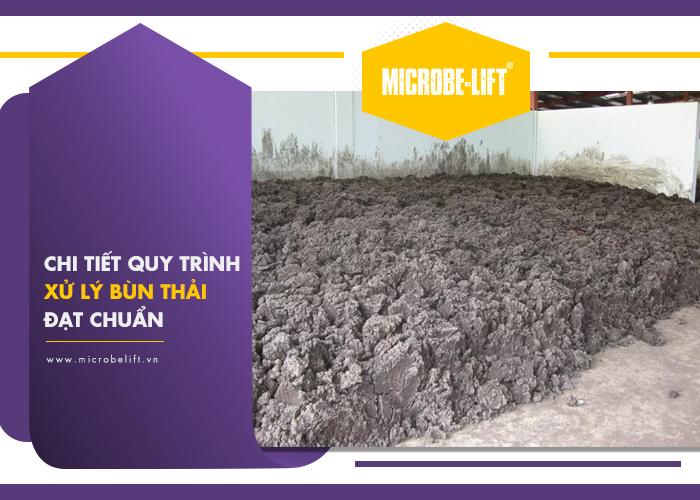Chi tiết quy trình xử lý bùn thải đạt chuẩn