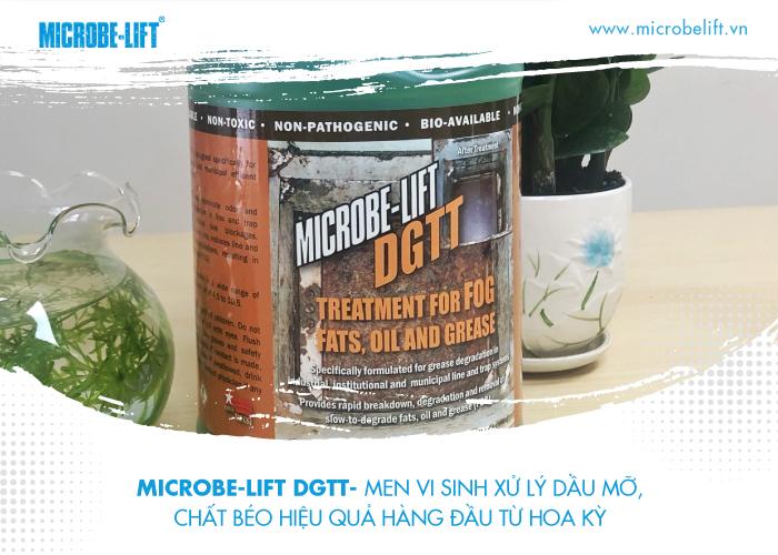 2/ Microbe-Lift DGTT- Men vi sinh xử lý dầu mỡ, chất béo hiệu quả hàng đầu từ Hoa Kỳ.