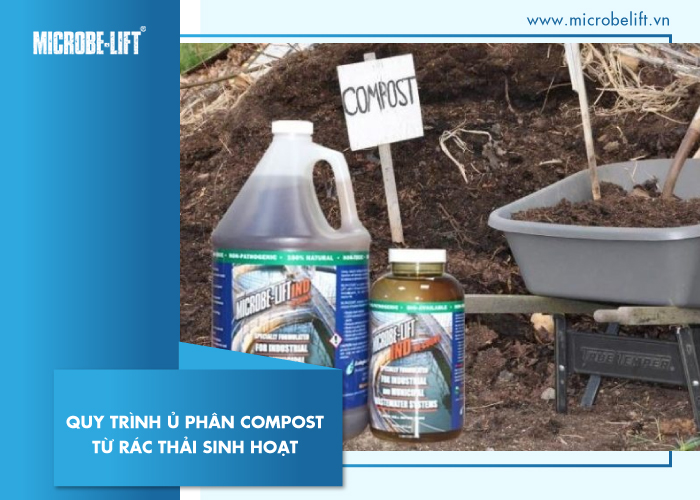 Quy trình ủ phân Compost từ rác thải sinh hoạt