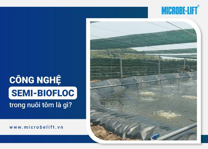 công nghệ semi-biofloc